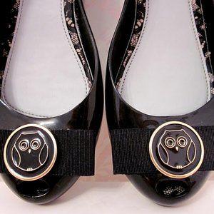 Melissa Ultragirl Jason Wu Black Slipper Shoe 9.0